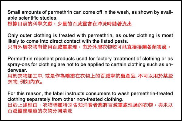Reasons for washing the clothing separately